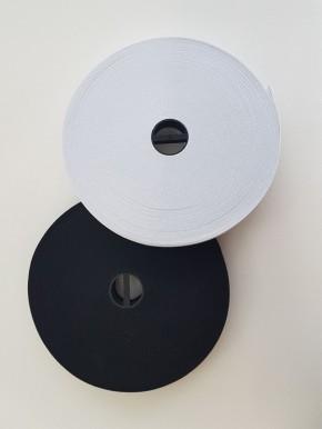 Gummiband 20 mm breit schwarz